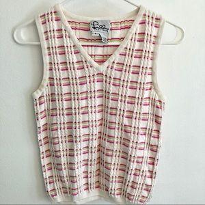 Vintage Lilly Pulitzer V-neck Sweater Vest
